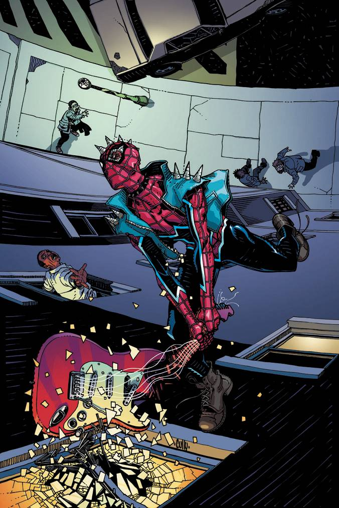EDGE OF SPIDER-GEDDON #1 (OF 4) HAMNER VAR