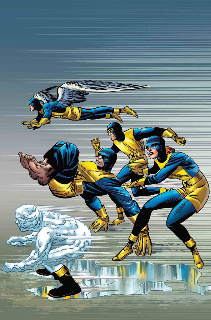 X-MEN BLUE #1 KIRBY 100TH VAR (1:10 Variant)