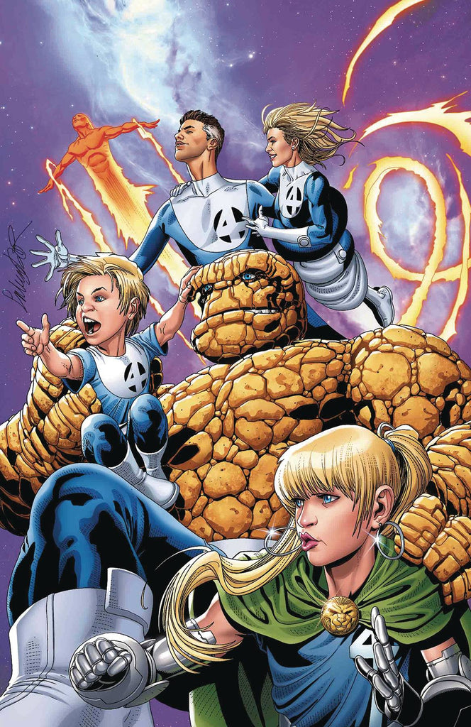 PUNISHER #1 LARROCA RETURN OF FANTASTIC FOUR VAR
