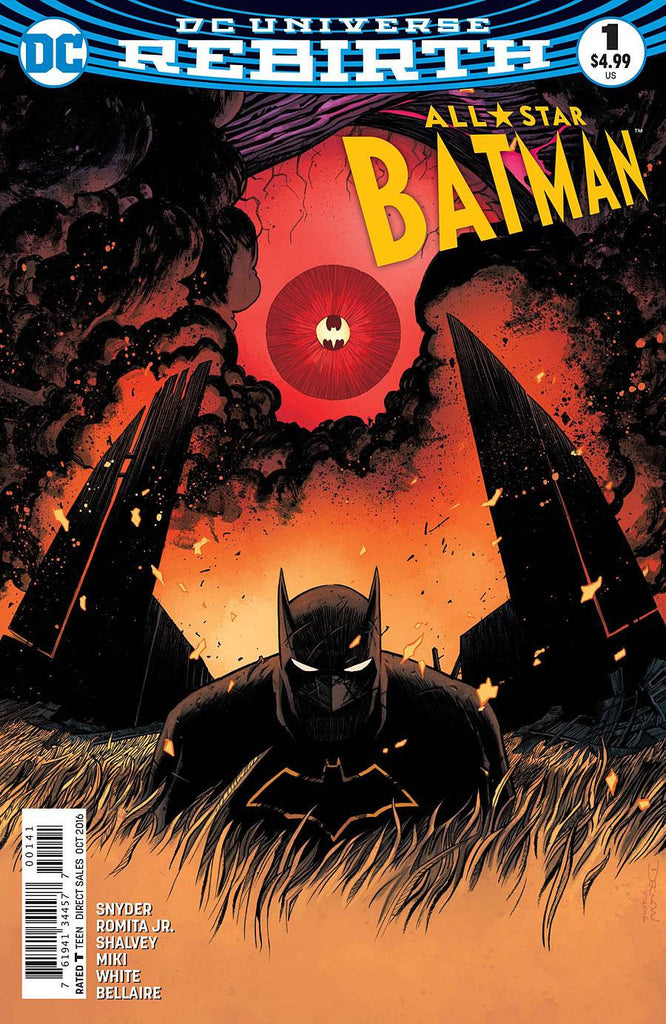 ALL STAR BATMAN #1 SHALVEY VAR ED