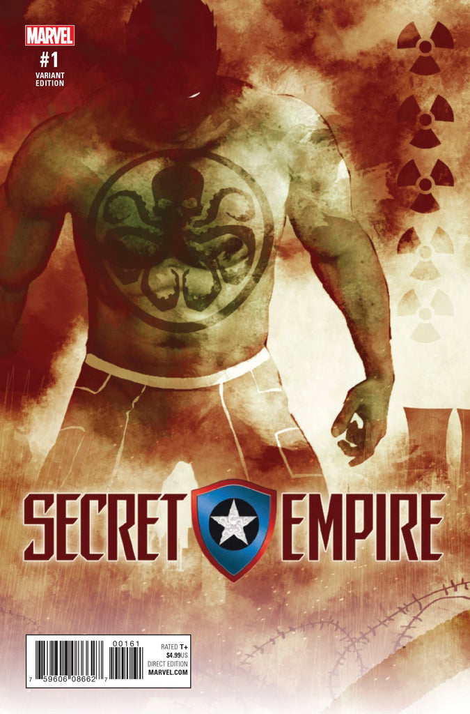SECRET EMPIRE #1 (OF 9) SORRENTINO HYDRA HEROES VAR
