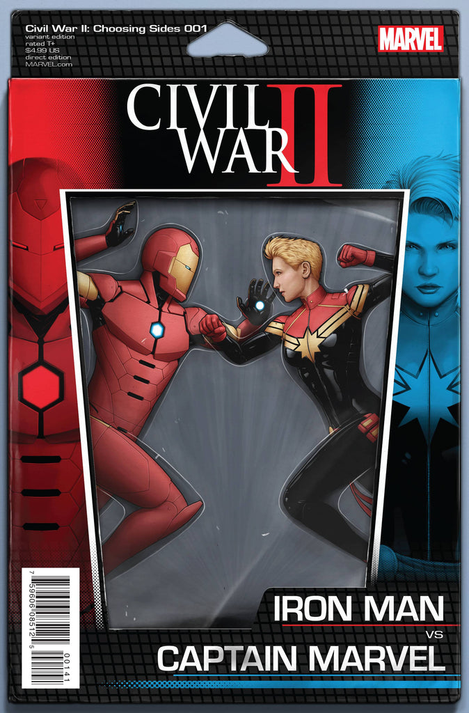 CIVIL WAR II CHOOSING SIDES #1 (OF 6) ACTION FIGURE VAR