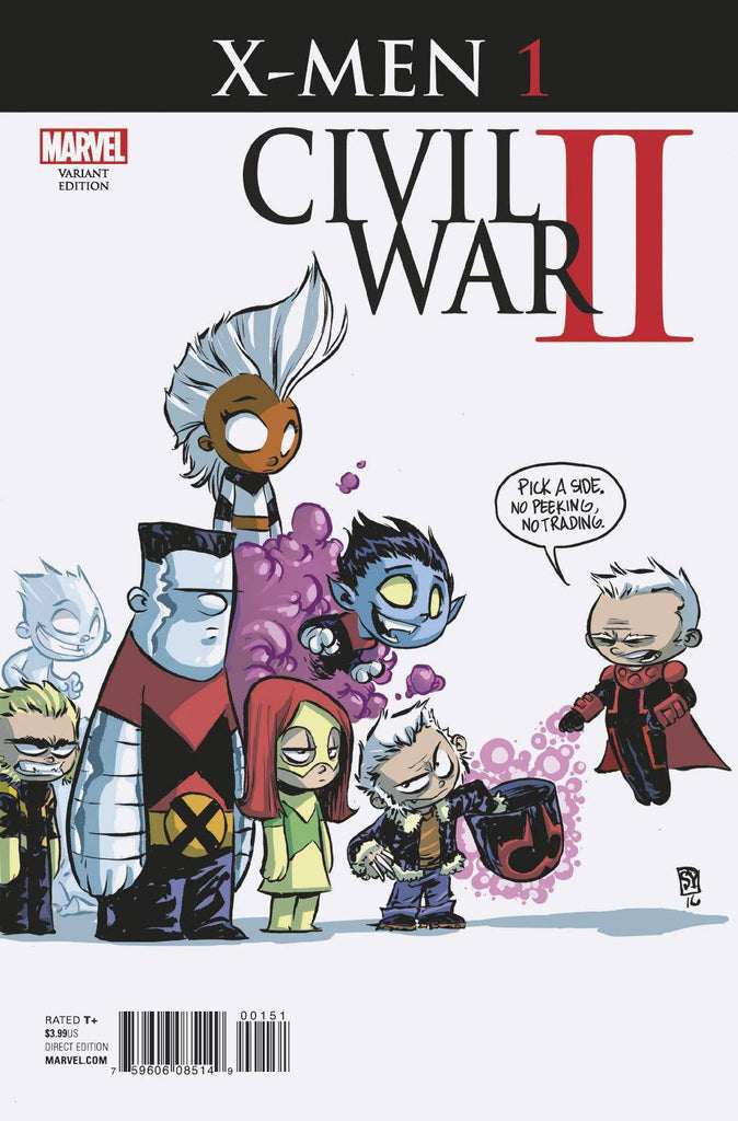 CIVIL WAR II X-MEN #1 (OF 4) YOUNG VAR