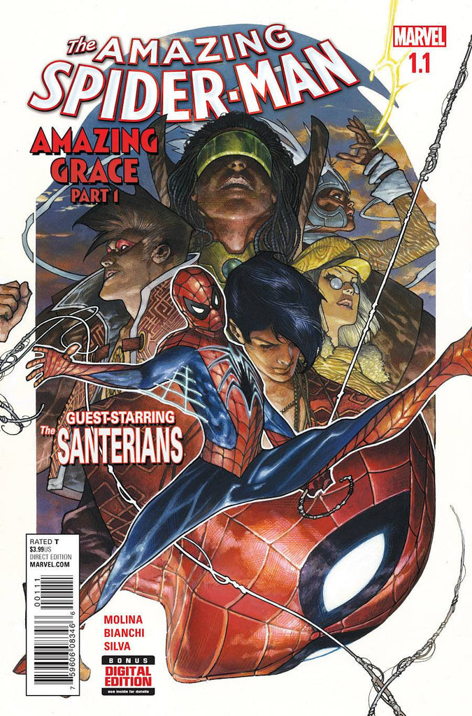 AMAZING SPIDER-MAN #1.1