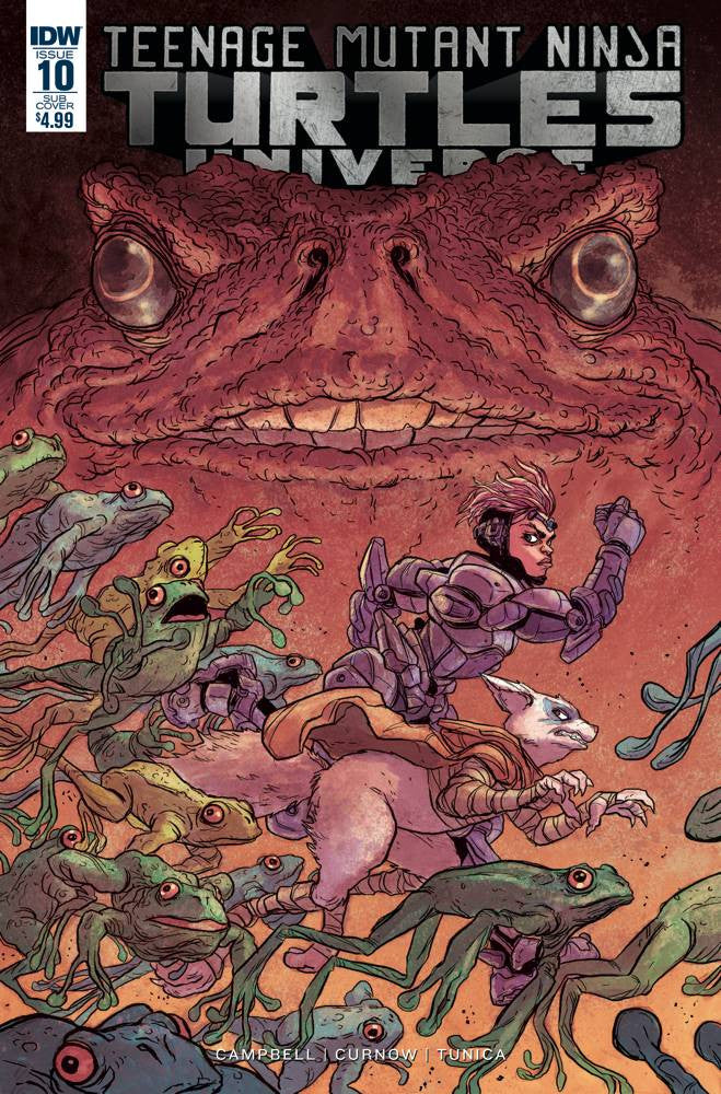 TMNT UNIVERSE #10 SUBSCRIPTION VAR
