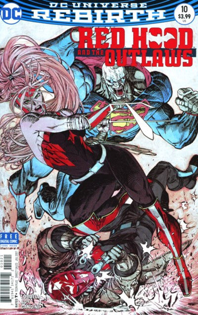 RED HOOD AND THE OUTLAWS #10 VAR ED