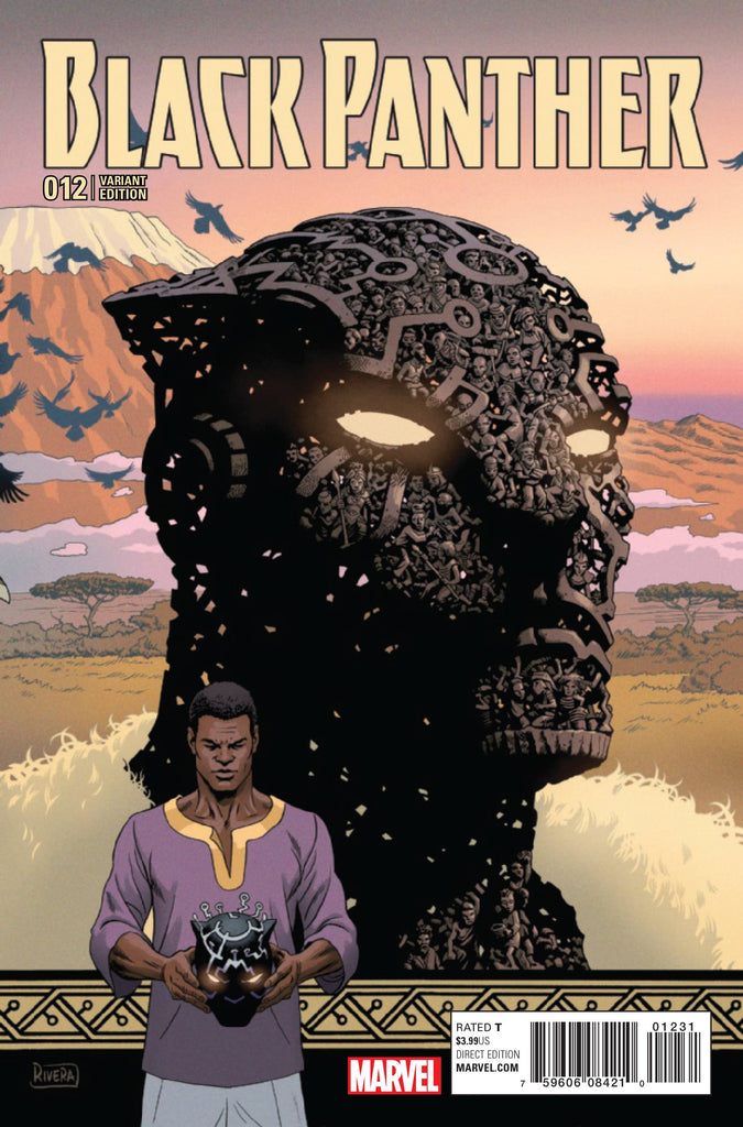 BLACK PANTHER #12 RIVERA CONNECTING VAR