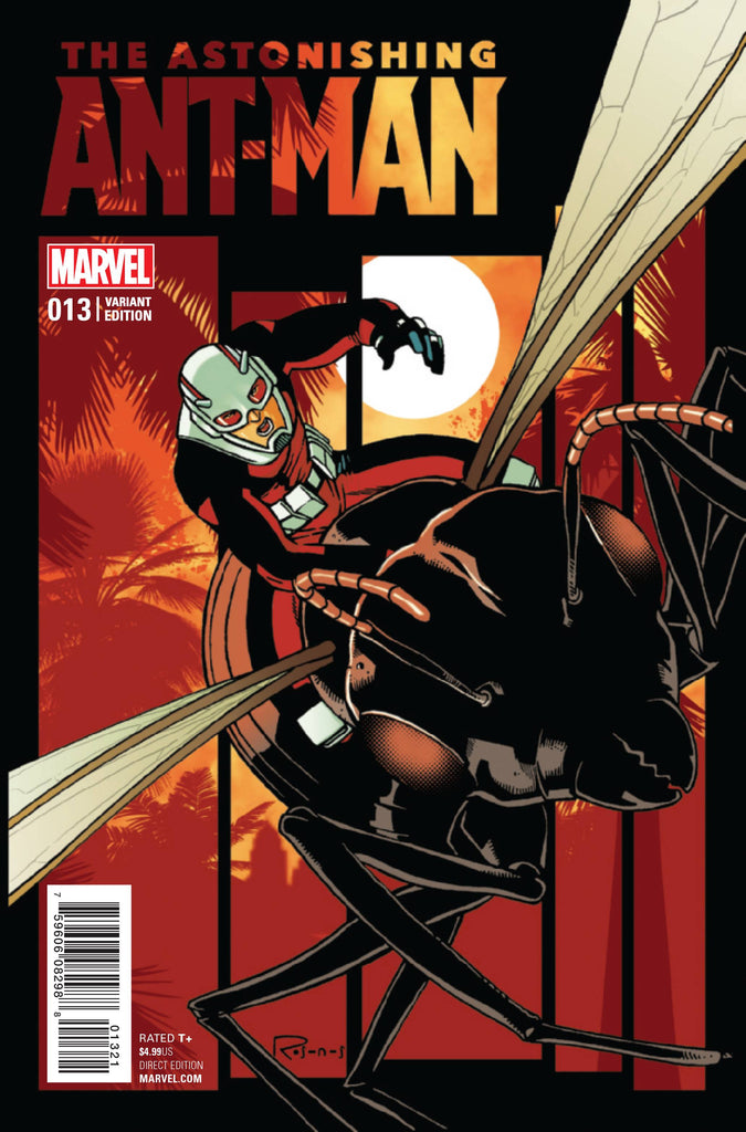 ASTONISHING ANT-MAN #13 ROSANAS LAST ISSUE VAR