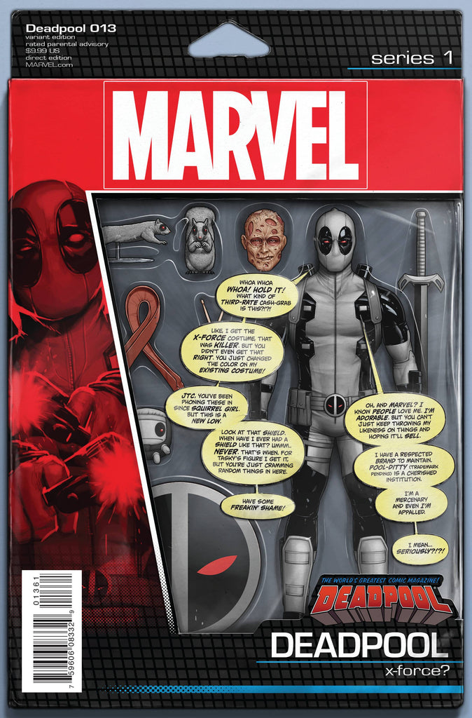 DEADPOOL (Vol. 5) #13 CHRISTOPHER ACTION FIGURE VAR