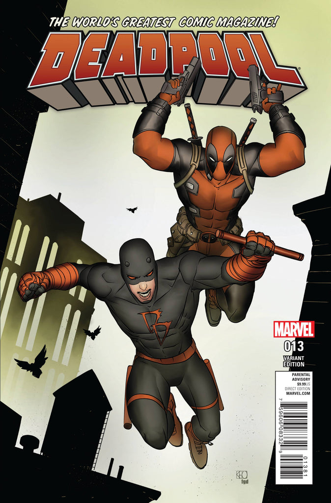 DEADPOOL (Vol. 5) #13 PHAM DAREDEVIL VAR