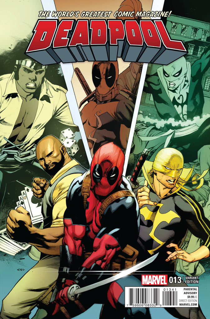 DEADPOOL (Vol. 5) #13 STEVENS POWER MAN AND IRON FIST VAR
