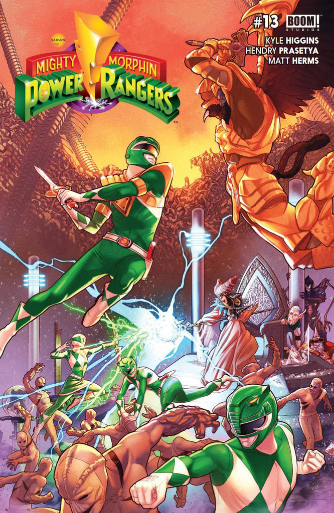 MIGHTY MORPHIN POWER RANGERS #13 MAIN CVR