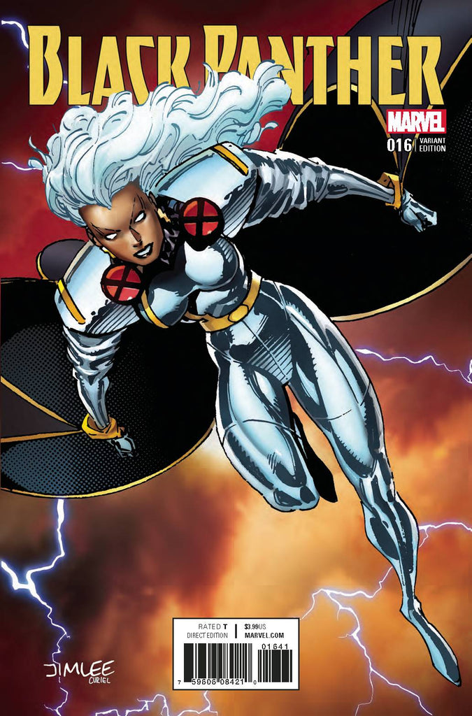 BLACK PANTHER #16 X-MEN CARD VAR