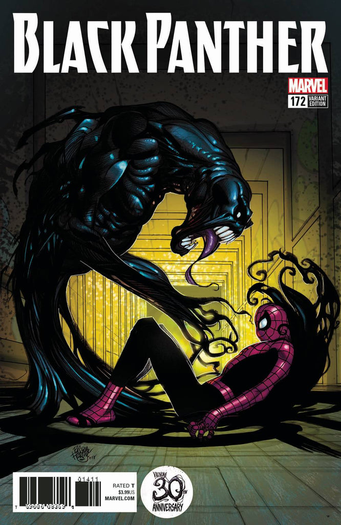 BLACK PANTHER #172 FERRY VENOM 30TH VAR