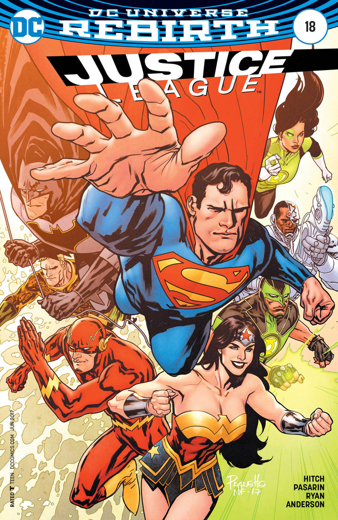 JUSTICE LEAGUE #18 VAR ED