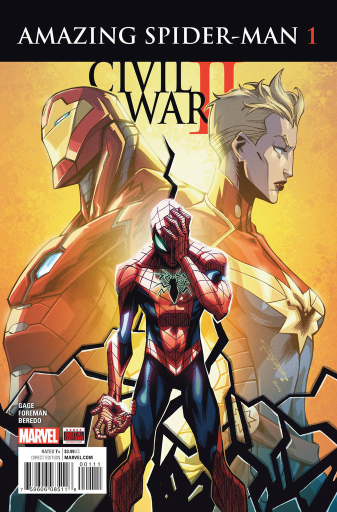 CIVIL WAR II AMAZING SPIDER-MAN #1 (OF 4)