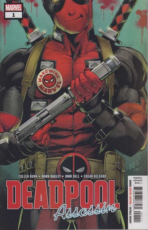 Deadpool Assassin (2018) #1A