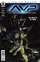 ALIENS VS PREDATOR LIFE AND DEATH #1 MAIN PALUMBO CVR