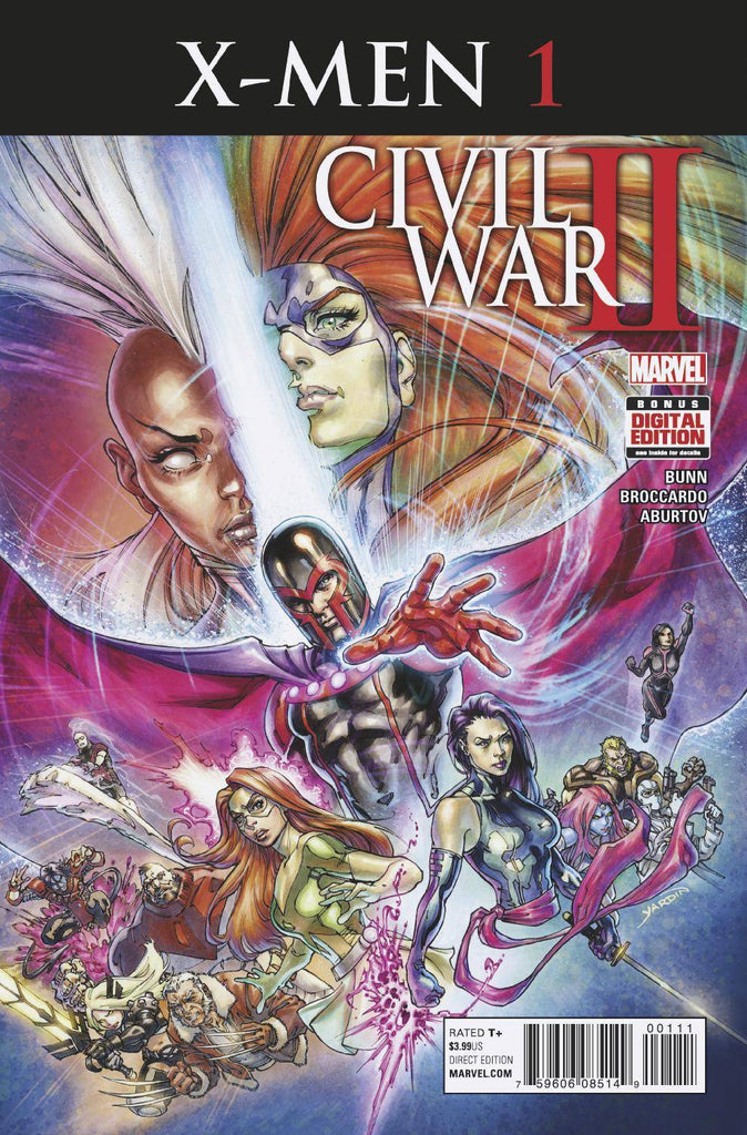 CIVIL WAR II X-MEN #1 (OF 4)