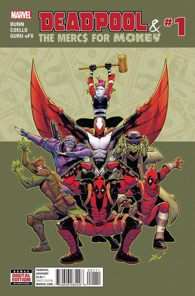 DEADPOOL AND MERCS FOR MONEY #1