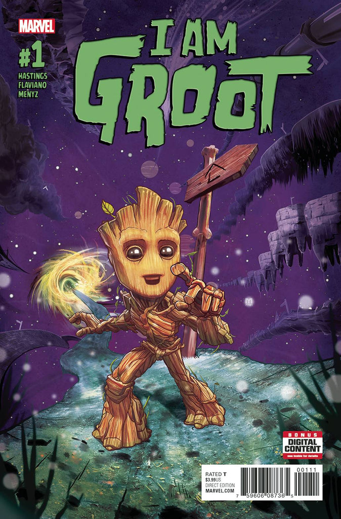 I Am Groot (2017 Marvel) #1A (FN)