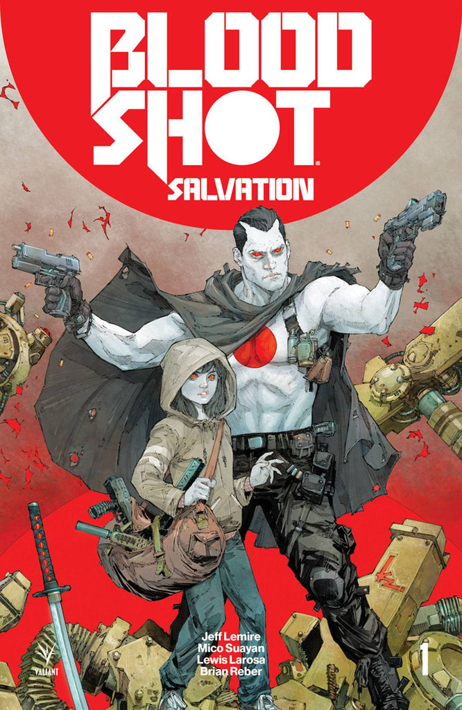 BLOODSHOT SALVATION #1 CVR A ROCAFORT