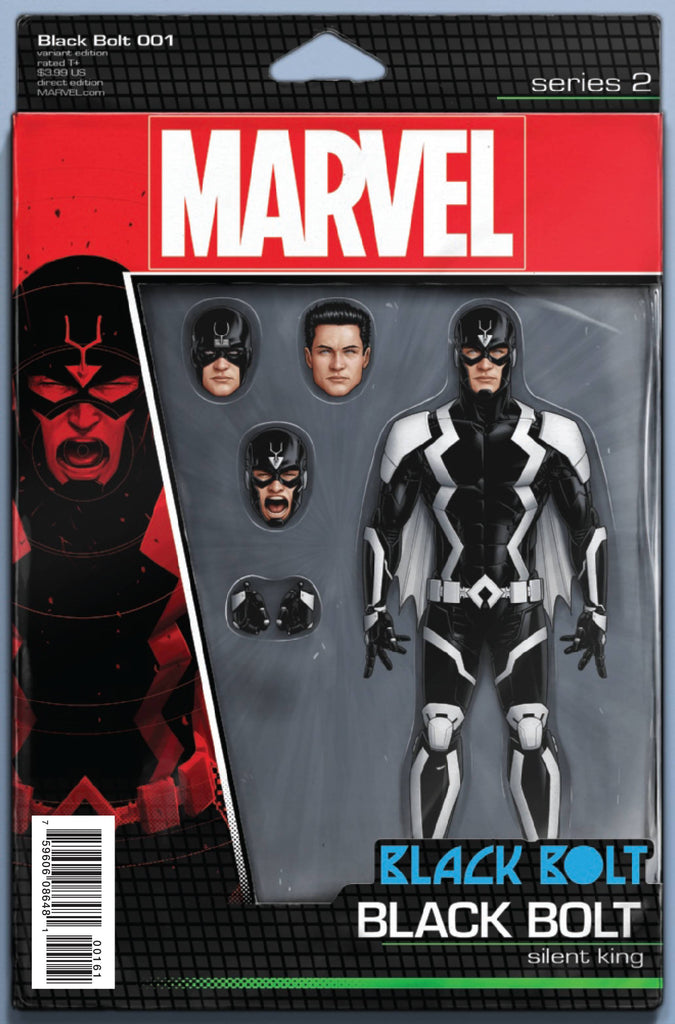 BLACK BOLT #1 CHRISTOPHER ACTION FIGURE VAR