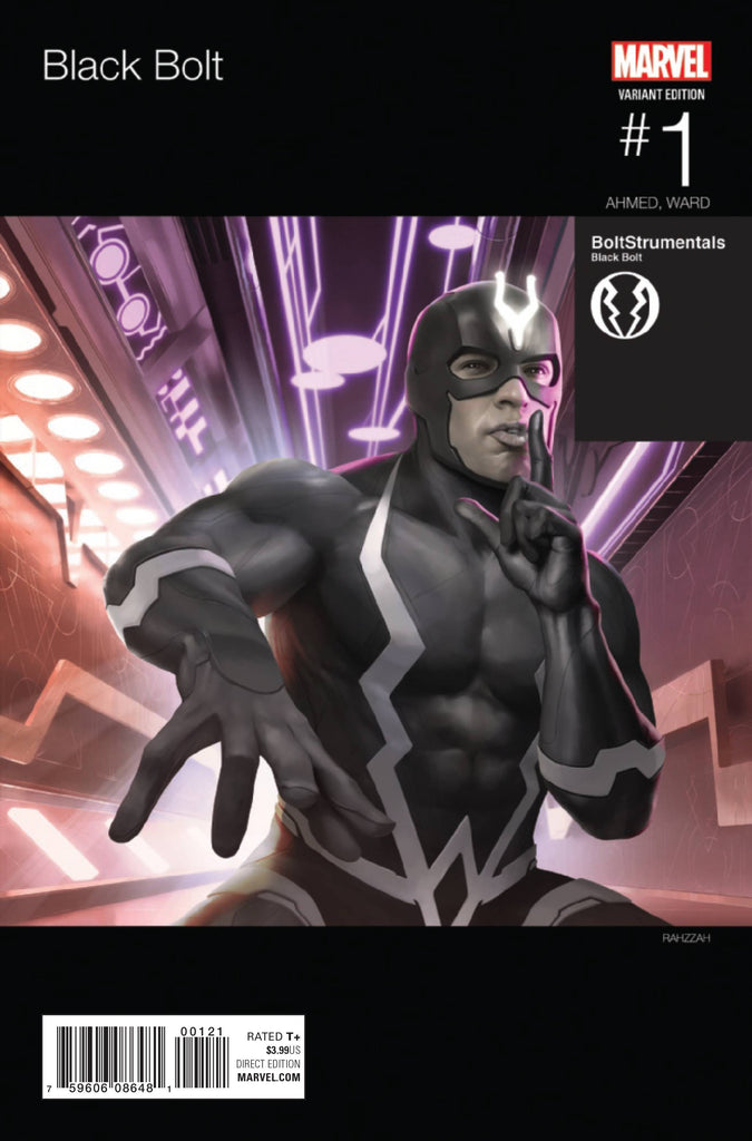 BLACK BOLT #1 RAHZZAH HIP HOP VAR