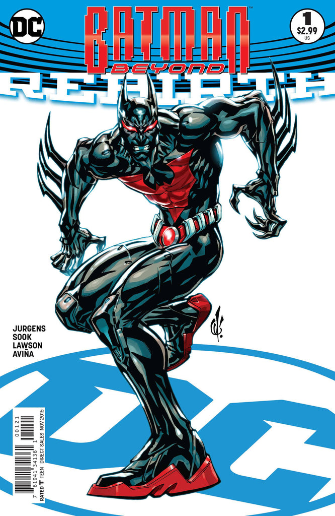 BATMAN BEYOND REBIRTH #1 VAR ED