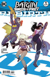 BATGIRL AND THE BIRDS OF PREY REBIRTH #1 VAR ED