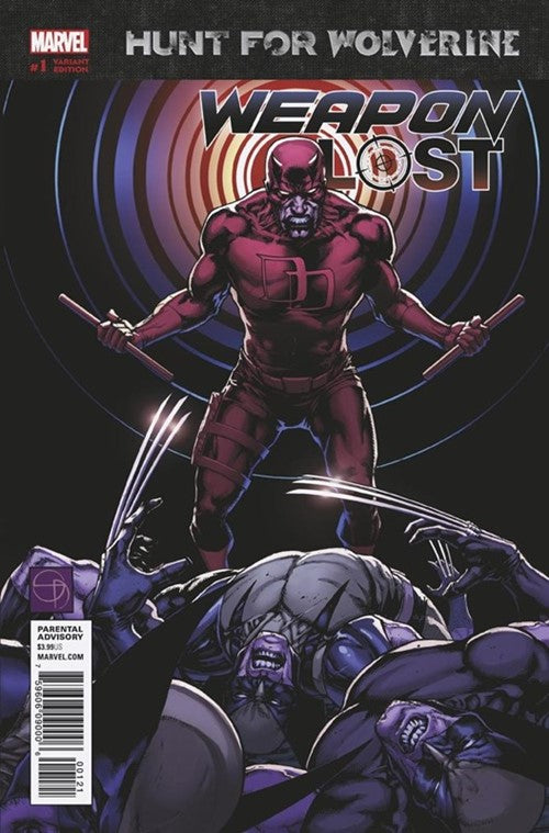 Hunt for Wolverine Weapon Lost (2018) #1B