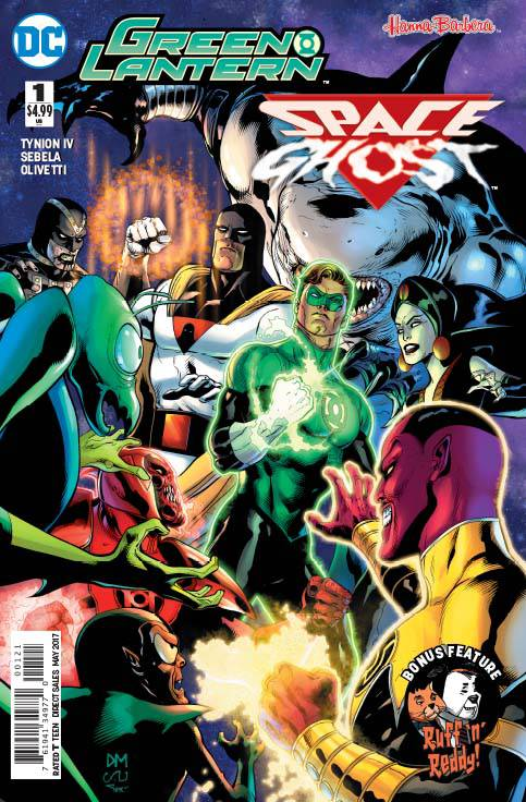 Green Lantern Space Ghost Special (2017) #1B