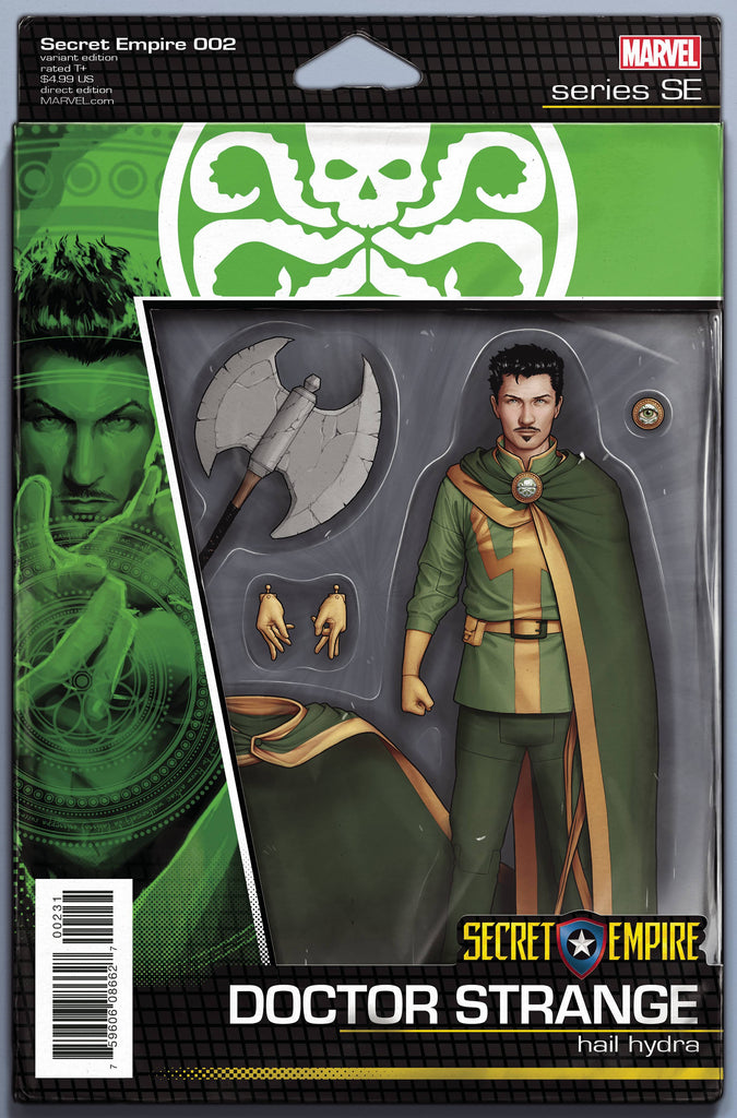 SECRET EMPIRE #2 (OF 10) CHRISTOPHER ACTION FIGURE VAR