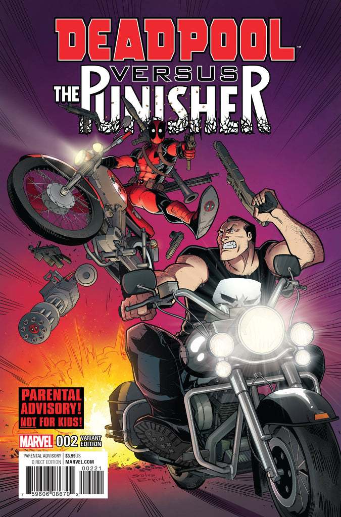 DEADPOOL VS PUNISHER #2 (OF 5) ESPIN VAR