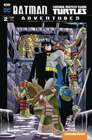 BATMAN TMNT ADVENTURES #2 (OF 6) SUBSCRIPTION VAR A