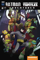 BATMAN TMNT ADVENTURES #2 (OF 6) SUBSCRIPTION VAR B