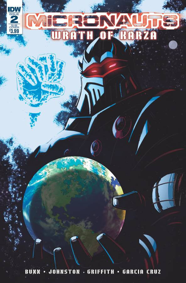 MICRONAUTS WRATH OF KARZA #2 (OF 5) SUBSCRIPTION VAR