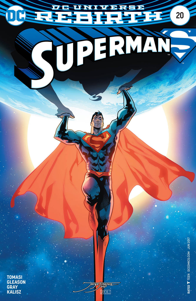 SUPERMAN #20 VAR ED