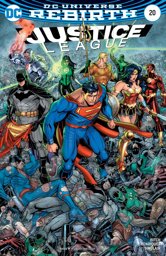 JUSTICE LEAGUE #20 VAR ED