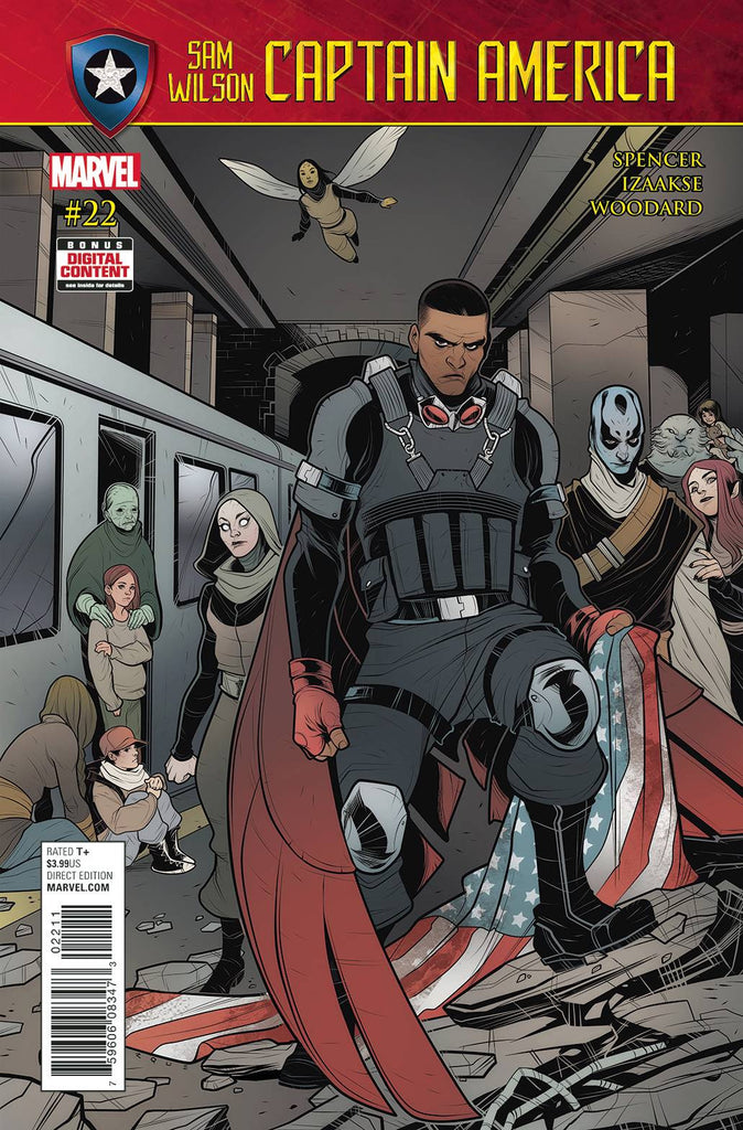 CAPTAIN AMERICA SAM WILSON #22