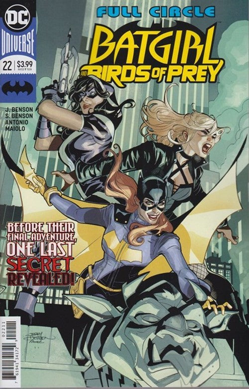 BATGIRL AND THE BIRDS OF PREY #22 FINAL ISSUE