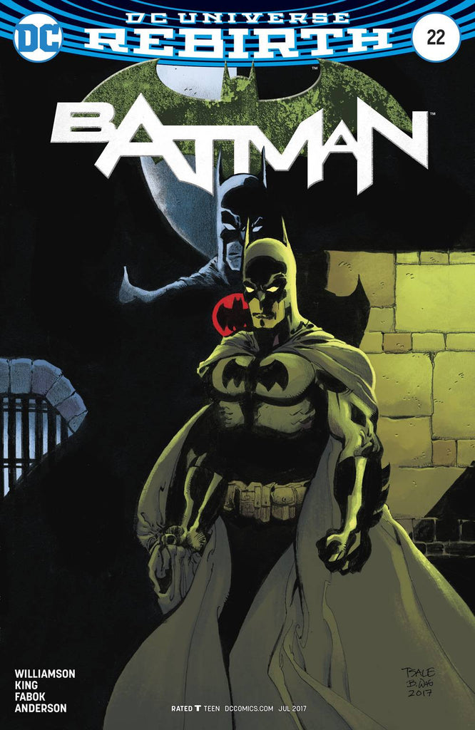 BATMAN #22 VAR ED (THE BUTTON)