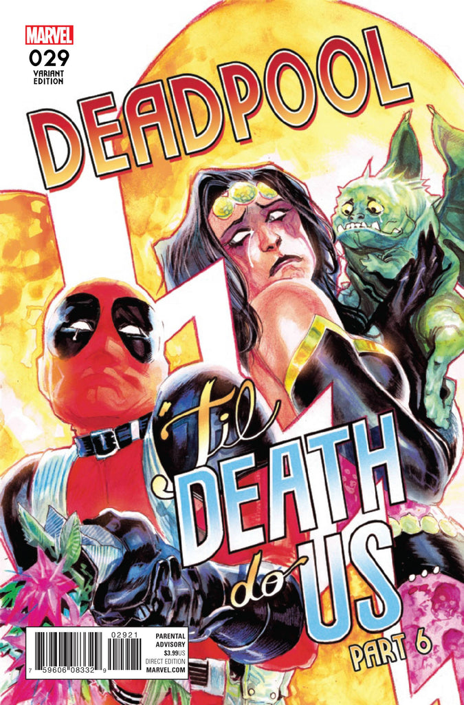 DEADPOOL (Vol. 5) #29 ALBEQUERQUE POSTER VAR