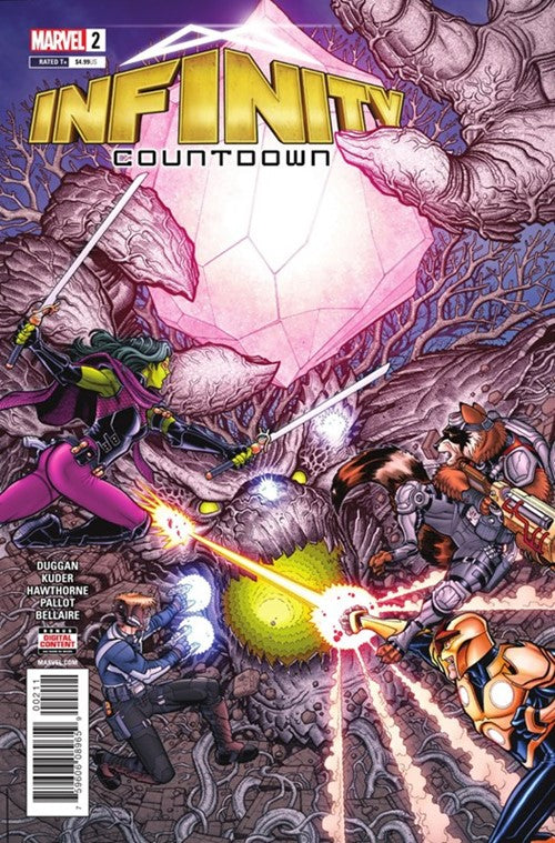 Infinity Countdown (2018 Marvel) #2A