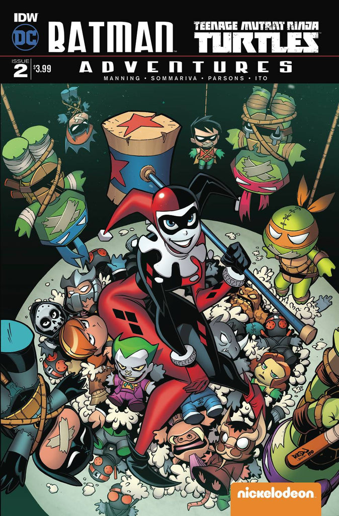 BATMAN TMNT ADVENTURES #2 (OF 6)