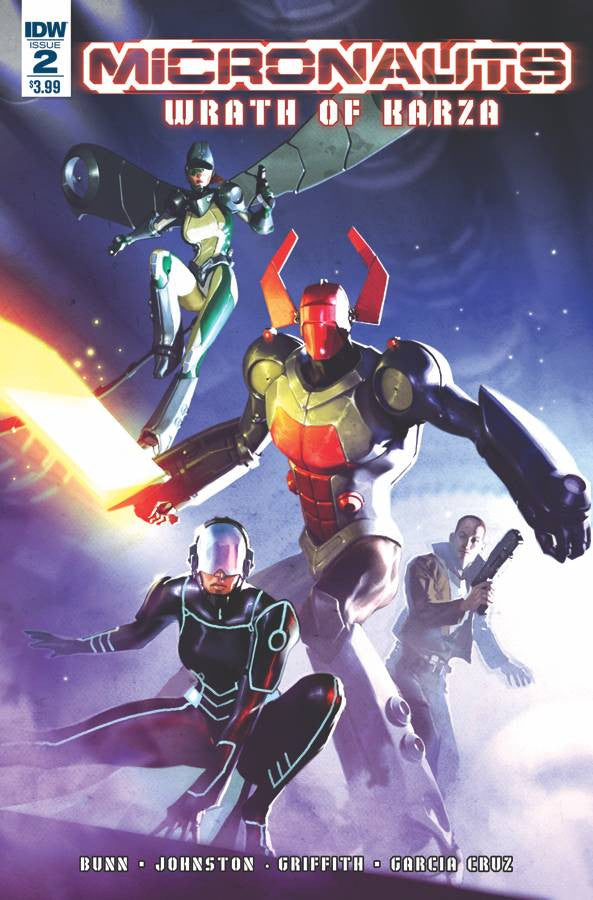 MICRONAUTS WRATH OF KARZA #2 (OF 5)