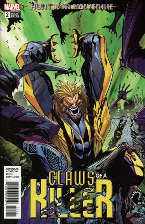 Hunt for Wolverine The Claws of a Killer (2018) #2B