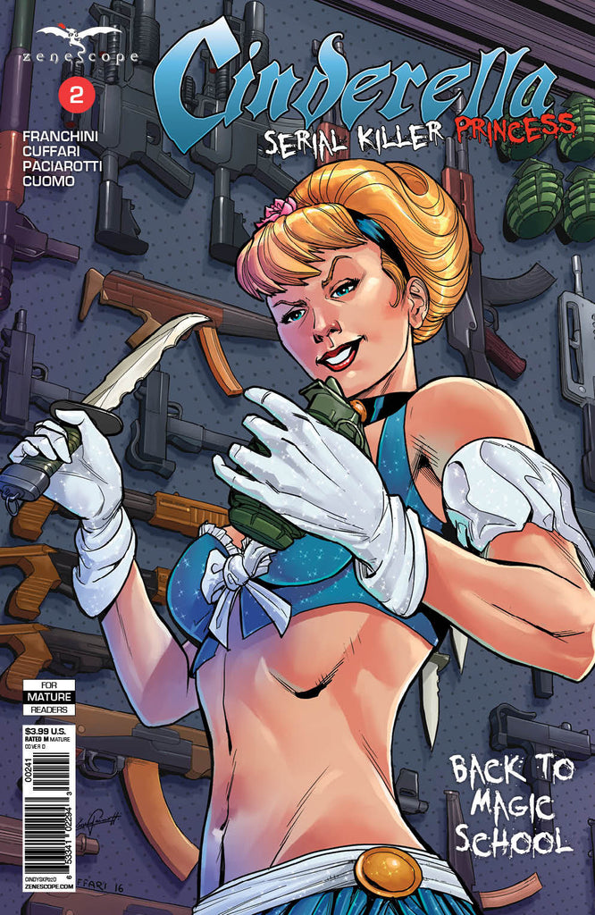 CINDERELLA SERIAL KILLER PRINCESS #2 CVR D CUFFARI
