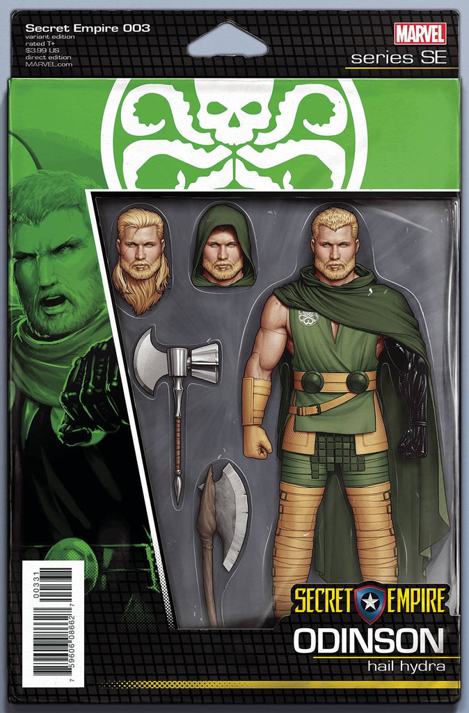 SECRET EMPIRE #3 (OF 10) CHRISTOPHER ACTION FIGURE VAR
