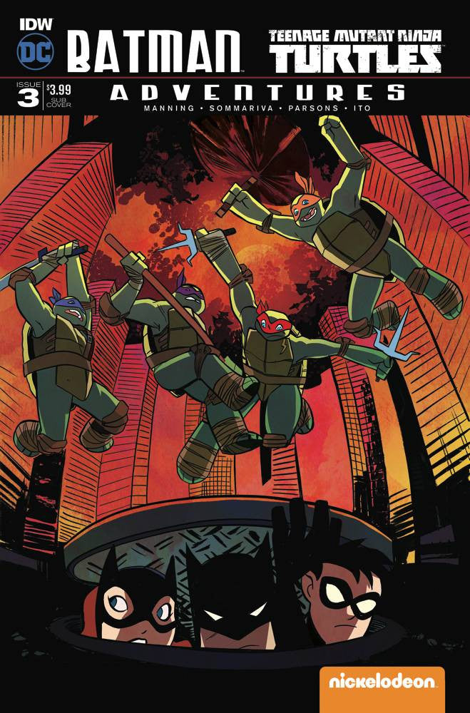 BATMAN TMNT ADVENTURES #3 (OF 6) SUBSCRIPTION VAR (VF)